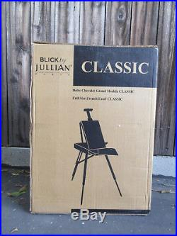 Jullian Full Size French Easel Paris Classic, New In Box