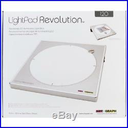 LED Light Box 120 LightPad Revolution by Artograph