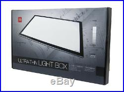 Large 24.5 Ultra Slim Thin LED Light Box Graphic Pad for Artists Designers