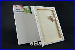 Large Size Canvas Artist Stretched & Acrylic Primed Box Framed 100% Cotton Art