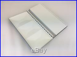 Large folding studio artist watercolor metal box hand made in Italy 48 pans