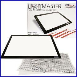 Lightmaster 17 x24 (A2) Light Box 12V Ultra-Thin Profile 110V AC Power Adapter