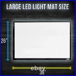 Lightmaster 24 x 33 (A1) Light Box 12V Ultra-Thin 110V AC Power Adapter