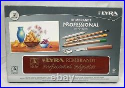Lyra Rembrandt Professional Polycolor Wooden Box Set Made in Germany
