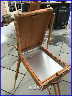 MABEF Adjustable Folding French Style Tripod Paint Box Easel Stand Plein Air
