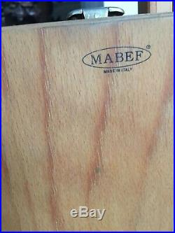 MABEF M22 Full French Sketch Box Easel Foldable Beechwood Brass Made in Italy