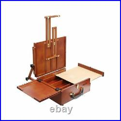 MEEDEN Ultimate Pochade Box, Lightweight French Box Easel for Plein Air Paint