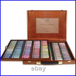 MUNGYO Gallery Artists' Extra Fine Soft Pastel Wood Box of 200 Colors for Artist