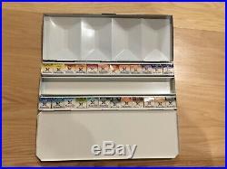 MaimeriBlu Superior Watercolor metal box 24 half pan set