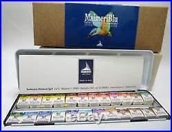 MaimeriBlu Superior Watercolours, Set 24 Metal Box Set
