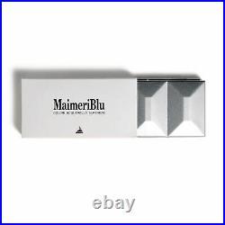 Maimeri Blu Artist Quality Watercolour Paint Metal Box Half Pan Set 12 Colours