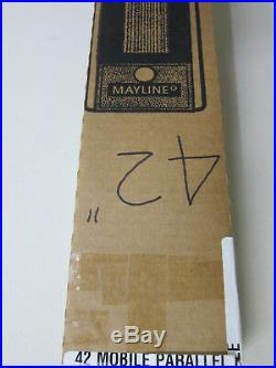 Mayline Model 7262A 42 Mobile Parallel Straight Edge New in Box