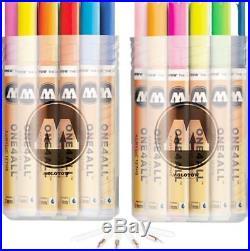 Molotow One4All 127 HS Complete Set 40 Marker Paint Lack Acryl 127HS Kit box