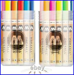 Molotow One4All 127 Hs Complete Set 40 Marker Paint Patent Acrylic 127HS Kit Box
