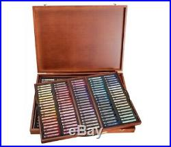 Mungyo Gallery Extra-Fine Soft Pastels Wood Box Set of 200 Assorted Colors