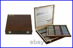 Mungyo Gallery Extra-Fine Soft Pastels Wood Box Set of 90 Assorted Colors