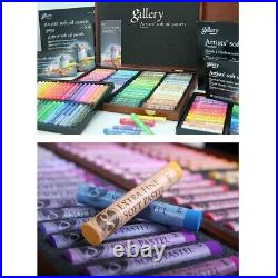 Mungyo Gallery Soft Oil Pastels Wood Box Set of 120 Assorted Colors(MOPV-120W)
