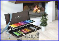 NEW IN WOODEN BOX 120x Faber-Castell WaterColour Albrecht Durer Colour Pencils