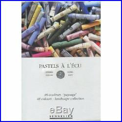 NEW! Sennelier 48 Extra Soft Pastel Landscape Paysage Cardboard Box Set 132251