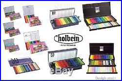 NIB HOLBEIN WORKS High-grade pigment Colored Pencil Set Airmail F/S Tracking