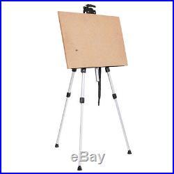 New Easel Aluminum Sketch Box Portable Folding Durable Artist Painters Tripod
