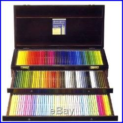 New Holbein Artist Colored Pencil 150 Colors Set Wooden Box OP946 Japan