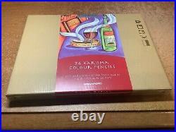 New Sealed Box 24 Karisma Colour Pencils + 3 New Extras Free (27 Total!)