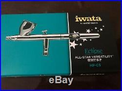 New in Box iwata Eclipse All-Star Versatility Eclipse Airbrush ECL4500 0.24 oz