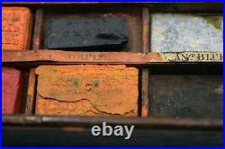 Newman's Watercolor paint box Soho Square Antique -VERY RARE