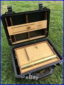 OPEN BOX M PELICAN POCHADE PLEIN AIR BOX! BOGEN MANFROTTO TRIPOD NOS 11x14