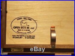 OPEN BOX M POCHADE, EXCELLENT A+ CONDITION, PLEIN AIR EASEL, PAINT BOX, 11x14