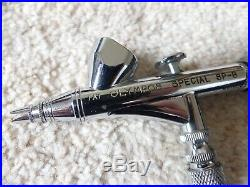 Olympos SP B Vintage Japanese Airbrush Excellent Condition In Display Box