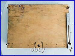 Open Box M Artist's Pochade Box Palette / Panel Holder 10 x 12 Brass Tray Hook