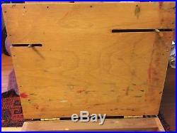 Open Box M Pochade Plein Air EASEL Painting palette/panel holder 8x10