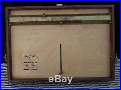 Open Box M Pochade Plen Air Painting palette/ panel holder 12X16