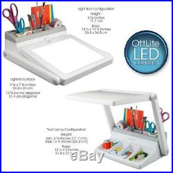 Ottlite Led Light Box /Task Lamp Combo