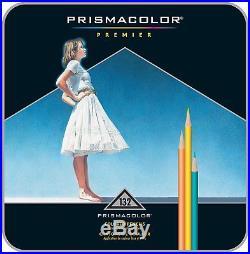 PRISMACOLOR PREMIER Pencil, Colored Pencils, Box of 132, Assorted Colours