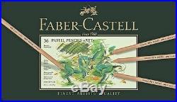 Pastels Pencils FABER CASTELL 12, 24, 36, 60 color metal box 4 VARIATION