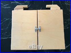 Pochade Box Plein Air Palette wood, handmade
