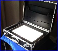 Portable light box for arts + crafts, drawing, photography film + tattoo tracing
