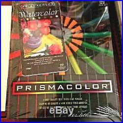 Prismacolor Color Pencil Set 120 USA! MINT in sealed box with Bonus WC Pencils