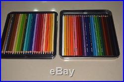 Prismacolor Premier 48 Tin Box Colored Pencils Artist Soft Cores Lapis Creyones