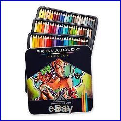 Prismacolor Premier Colored Pencils Soft Core 72 Pack Out Side Box Is Dent It