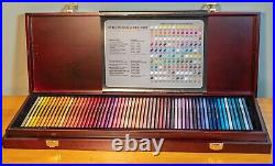 Prismacolor Premier Colored Pencils, Wooden Box Set 120 Open Box NOT used