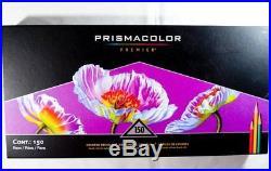 Prismacolor Premier Softcore Artists Colored Pencils 150ct Complete Box Set