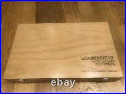 REMBRANDT SOFT PASTELS 225 Pastels Wood Box NEW