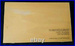 REMBRANDT SOFT PASTELS 225 Pastels Wood Box Used