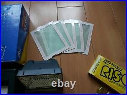 RISO GOCCO PG 11 B6 Screen Printing Machine With All Accessories, original box