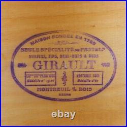 Rare Antique Girault Pastels in Original Box French c1920 era 2 pallets