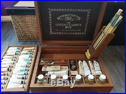 Rare Vintage Limited Edition Wooden Winsor Newton Covent Garden Box Oil Paint